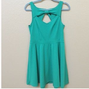 NNWT Material Girl pretty green dress
